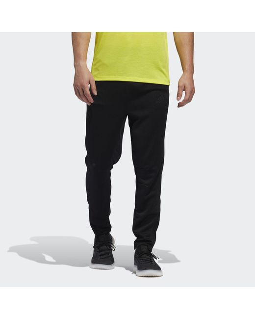 Adidas Black City Base Joggers for men