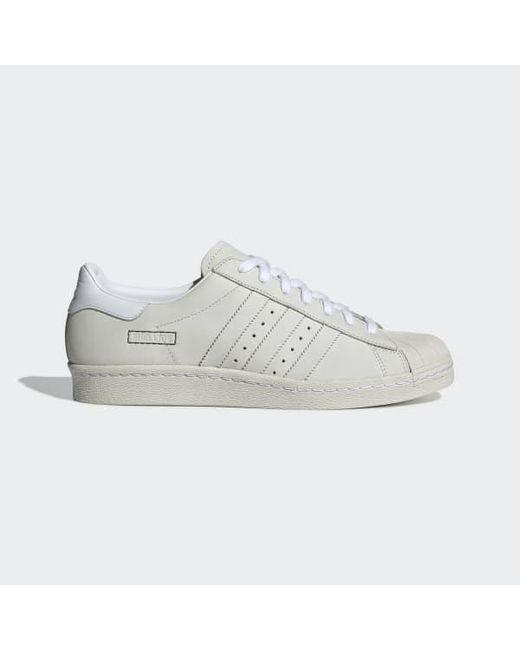 premium selection 866ba a8d3d Men's White Superstar 80s Shoes