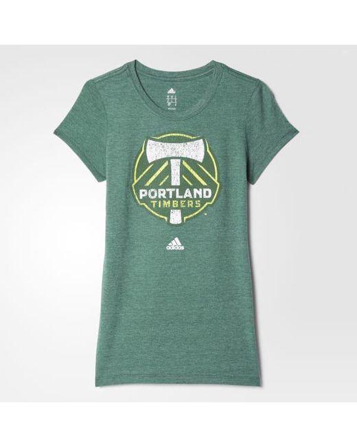 Adidas - Green Timbers Tee - Lyst