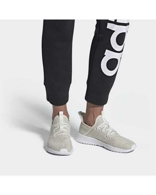adidas Lace Cloudfoam Pure Shoes in White Lyst