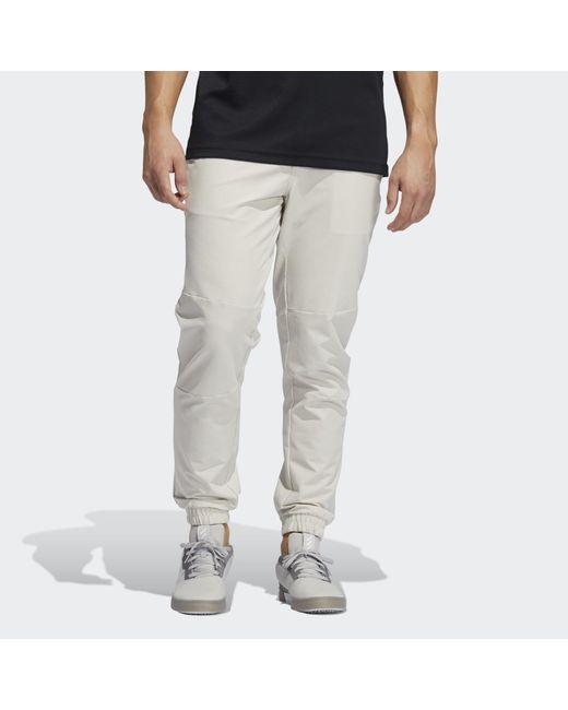 Adidas Gray Adicross Woven Pants for men