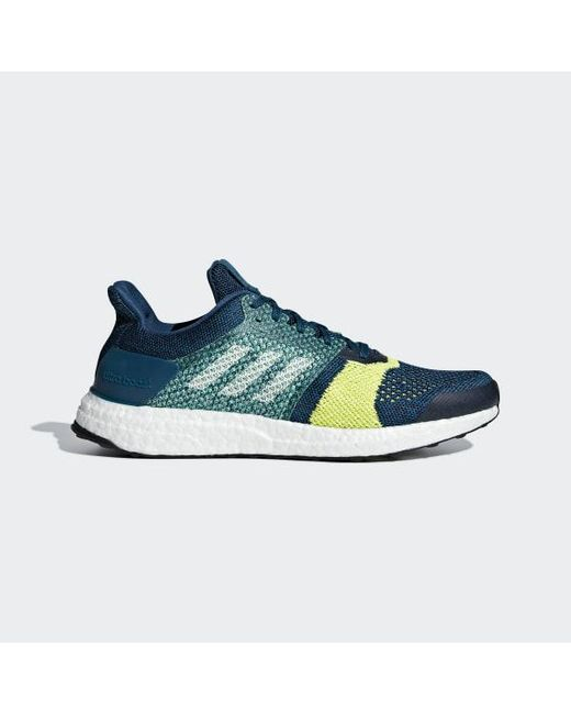 eace13725 Adidas - Blue Ultraboost St Shoes for Men - Lyst ...