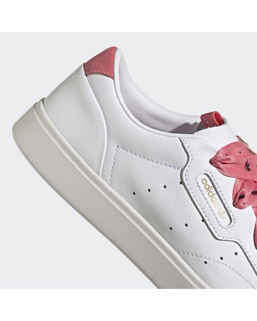 Adidas Sleek Schoenen in het White
