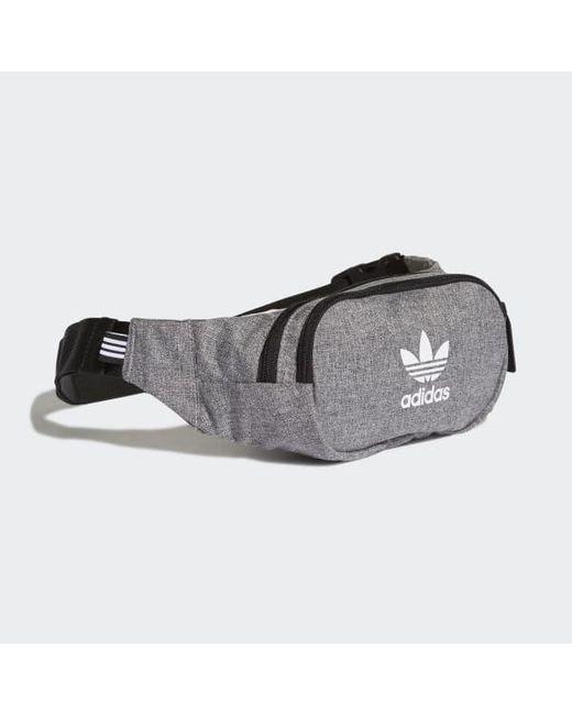 ... Adidas - Black Mélange Crossbody Bag for Men - Lyst ... 64b2a2af83801