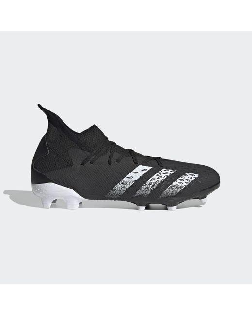Chaussure Predator Freak.3 Terrain souple Adidas en coloris Black