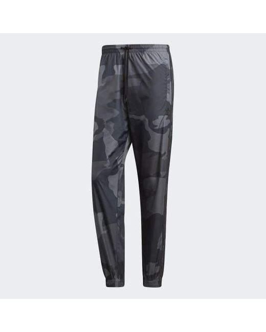 adidas Camouflage Woven Pants for Men Lyst