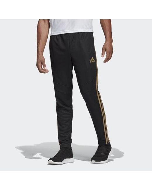 Adidas Black Tiro 19 Training Pants for men
