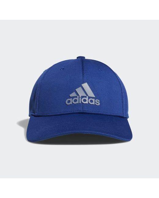 Franquicia Lyst Adidas Stretch Fit Hat en azul para los hombres
