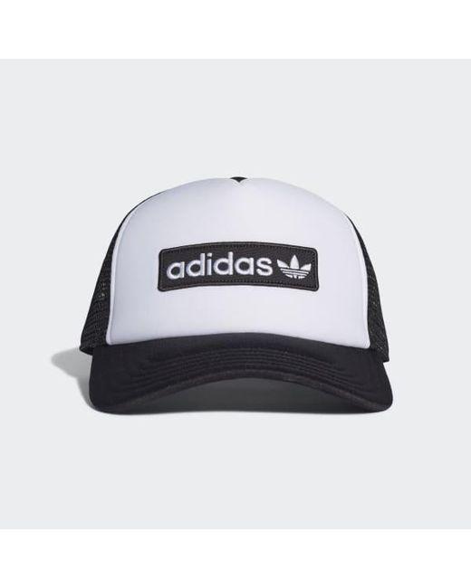 392baf398 Men's Black Foam Curved Trucker Hat