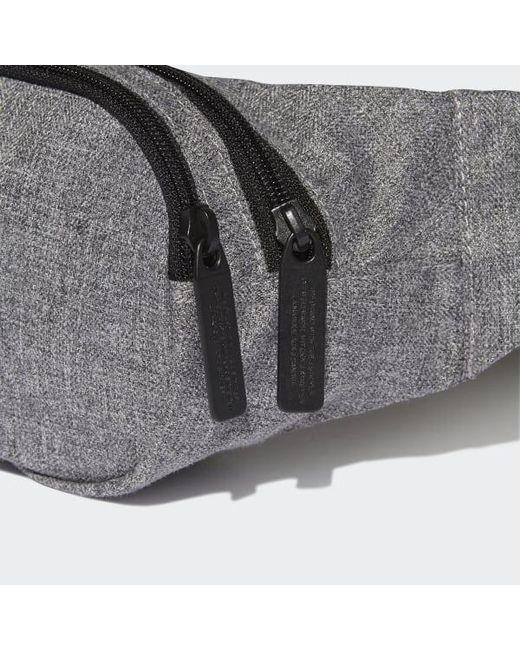 6e126c399fba ... Adidas - Black Mélange Crossbody Bag for Men - Lyst ...