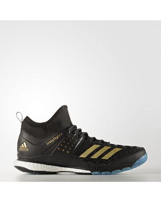 crazyflight catalyseur en adidas mi - chaussures en catalyseur noir pour les hommes. 3f3968