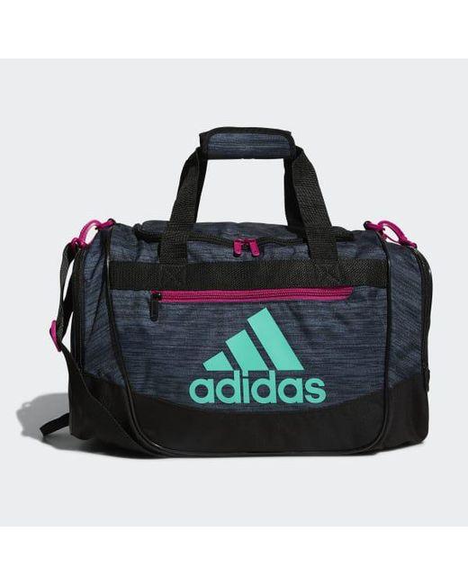 4340949298 Adidas - Black Defender Iii Small Duffel for Men - Lyst ...