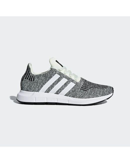 06866935a Adidas - Green Swift Run Shoes for Men - Lyst ...