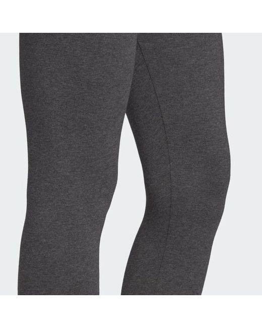 00f7de13d48cc ... Adidas - Gray Essentials Linear Tights - Lyst
