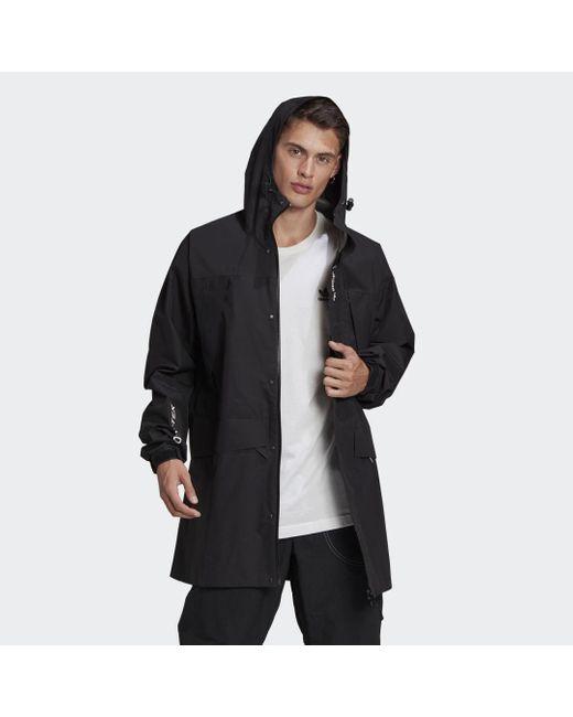 Adidas Adventure GORE-TEX Archive Print Block Windbreaker in Black für Herren