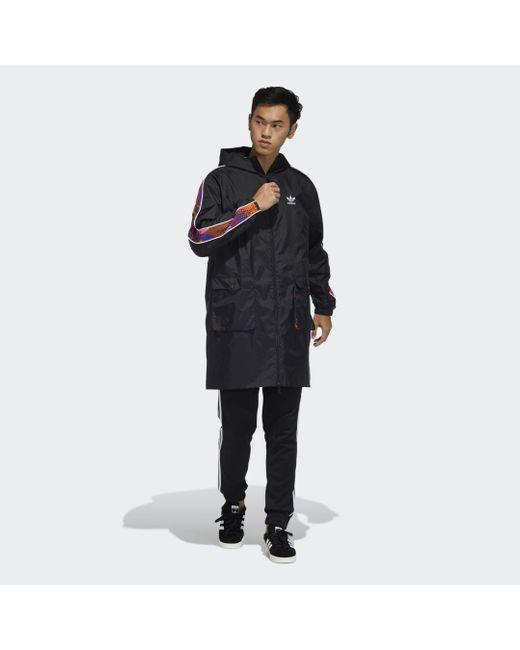 Parka CNY di Adidas in Black da Uomo