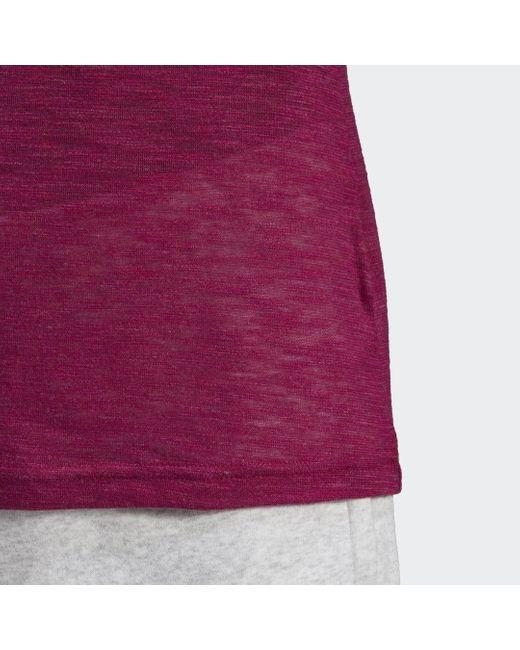 Adidas Purple Must Haves Winners T-Shirt