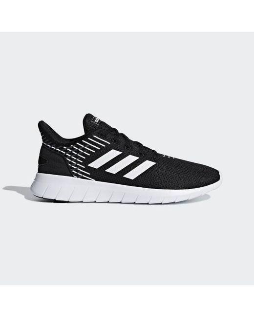 39edfd7381b Adidas - Black Asweerun Shoes for Men - Lyst ...