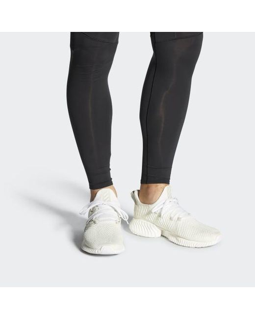 new concept 51843 6da94 ... Adidas - White Alphabounce Instinct Shoes for Men - Lyst ...