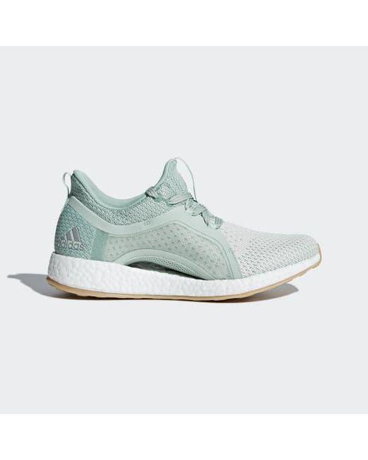 bedd45c3e3528 Adidas - Green Pureboost X Clima Shoes - Lyst ...