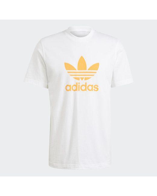 Adidas Trefoil T-Shirt in White für Herren