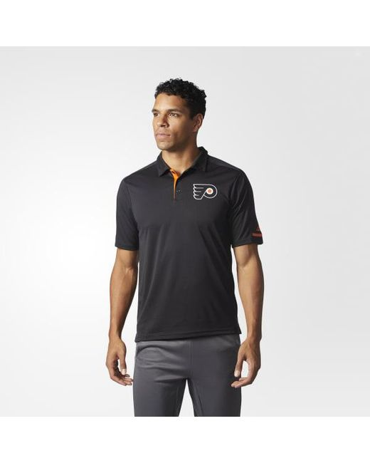 Adidas - Black Flyers Pro Locker Room Polo Shirt for Men - Lyst
