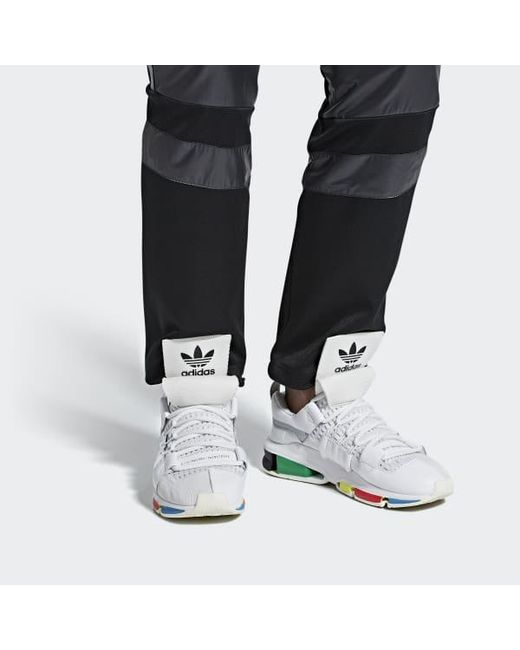 best sneakers 2a2b5 51eb8 ... Adidas - White Oyster Holdings Twinstrike Adv Shoes for Men - Lyst ...