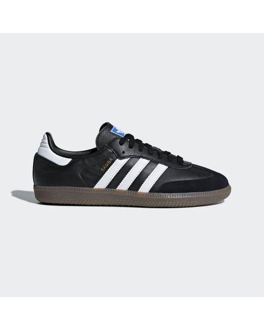 Adidas Black Samba Og Shoes for men