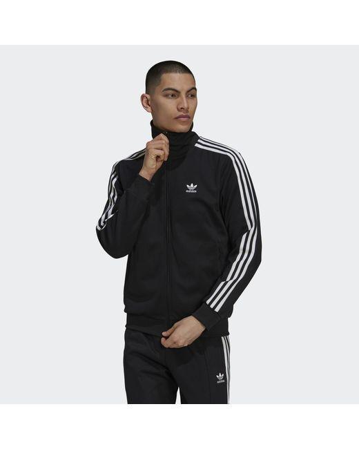 Adidas Black Adicolor Classics Beckenbauer Primeblue Track Top for men
