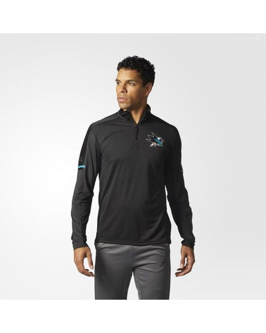 Adidas - Black Sharks Authentic Pro Jacket for Men - Lyst