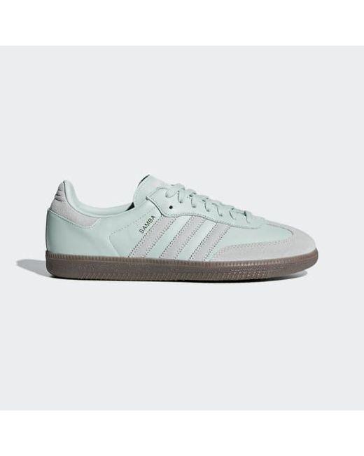 pretty nice 4e7c8 6679e Adidas - Green Samba Og Shoes for Men - Lyst ...