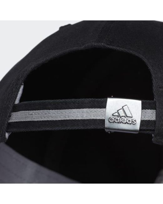 more photos fb177 ddff1 ... discount adidas black ultimate hat for men lyst c1f5a e8e42