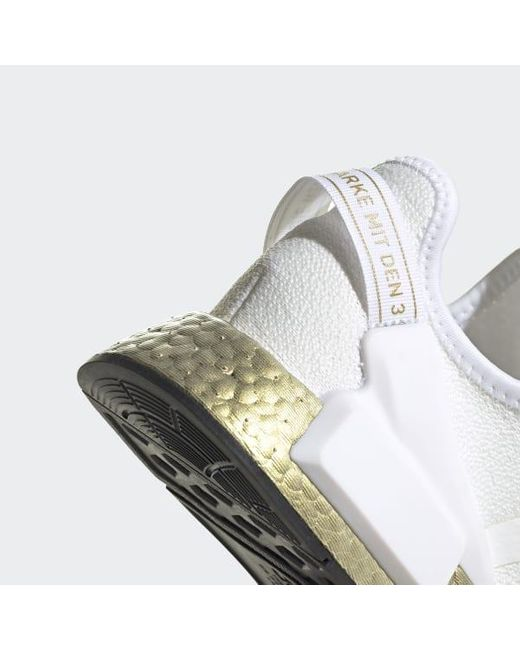 Adidas Lace Nmd R1 V2 Shoes In White Lyst