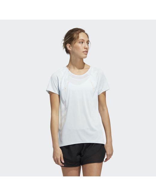 Adidas Heat.rdy T-shirt in het White