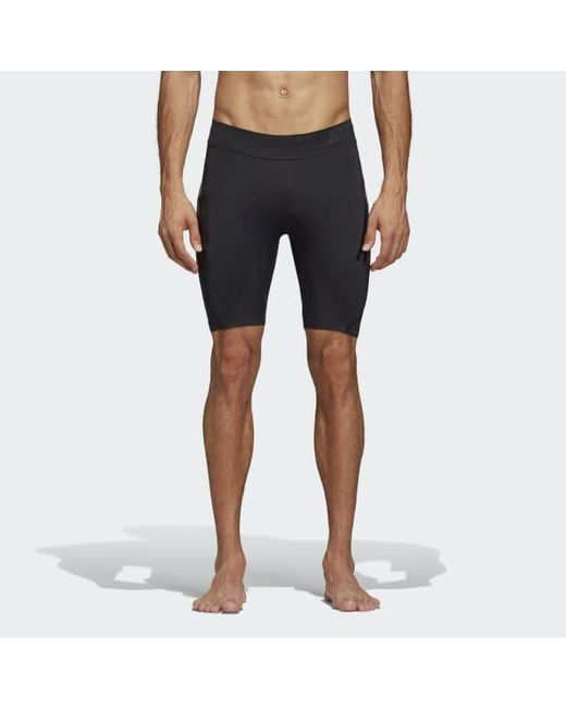 42d6d83c3b Lyst - adidas Alphaskin Tech Short 3-stripes Tights in Black for Men ...