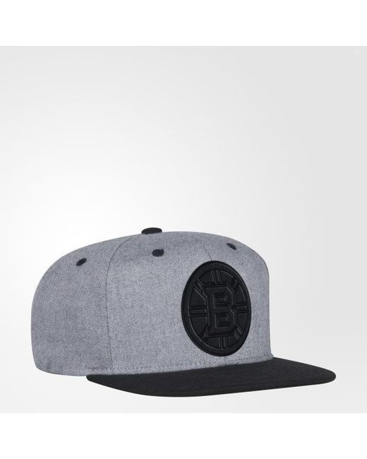 Adidas - Gray Bruins Two-tone Snapback Hat for Men - Lyst ... dd2cb50fbbd