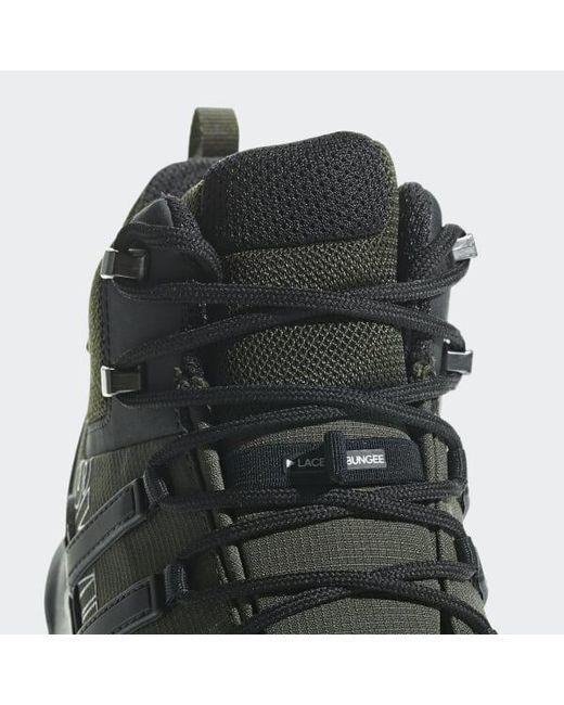Men's Green Terrex Swift R2 Mid Gtx Shoes