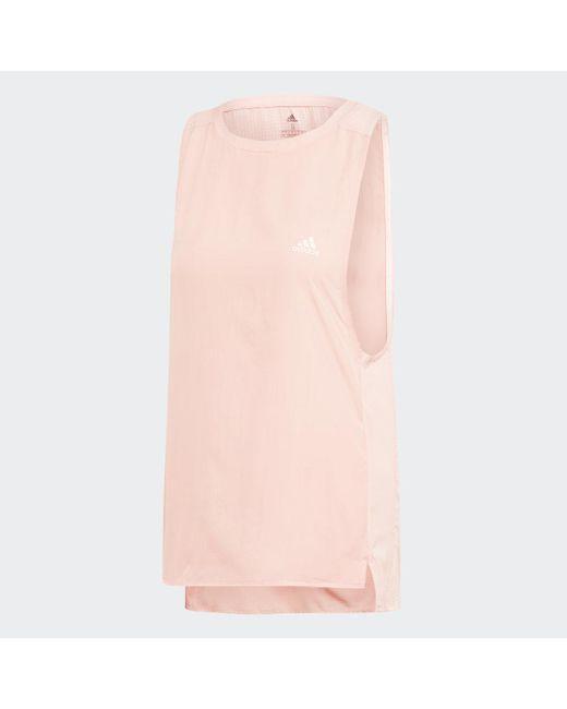 Canotta 25/7 di Adidas in Pink