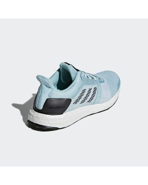 uk availability fbd63 9a103 ... Adidas - Blue Ultraboost St Parley Shoes - Lyst ...