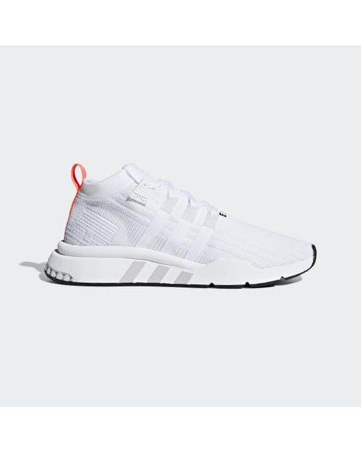 on sale 998f6 0023a ... cheaper a2d1c 18192 Adidas - White Eqt Support Mid Adv Primeknit Shoes  for Men - Lyst