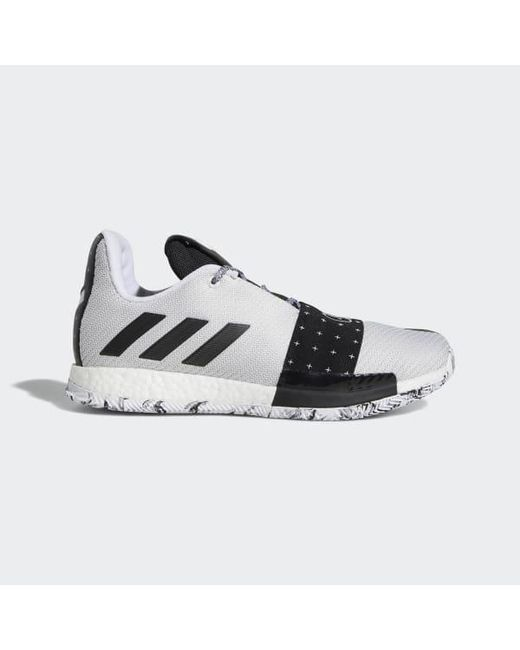 7b7657c27f9d Adidas - White Harden Vol. 3 Shoes for Men - Lyst ...