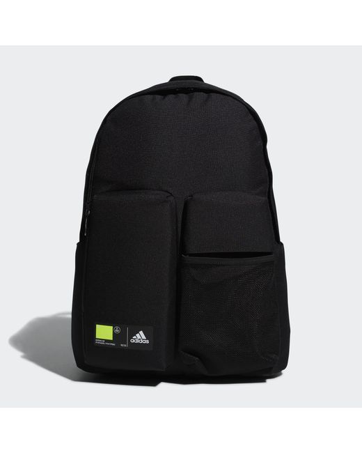 Adidas Black Classics 3d Pockets Backpack