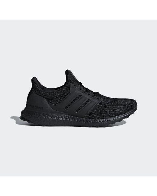 ec2d7b5aa Adidas - Black Ultraboost Shoes for Men - Lyst ...