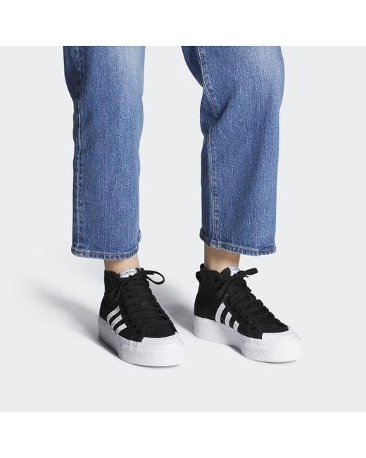 adidas Originals Canvas Nizza Platform