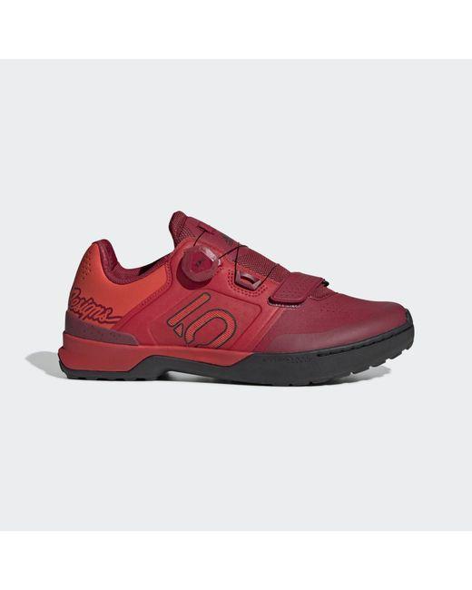 Adidas Red Five Ten Kestrel Pro Boa Tld Mountain Bike Shoes for men