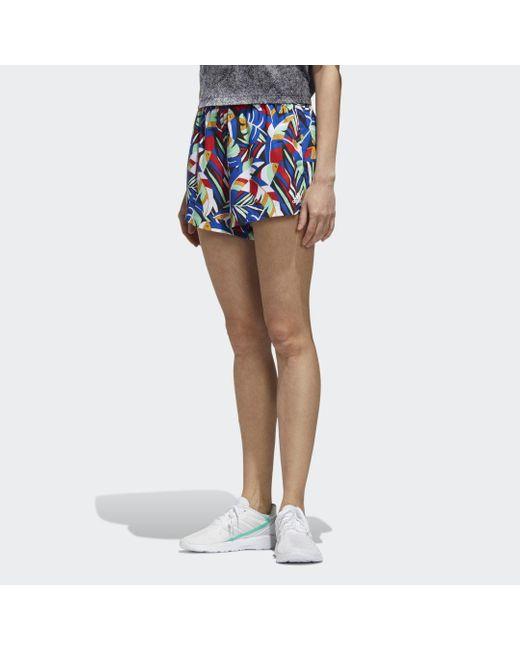 Adidas Women X Farm Short in het Blue