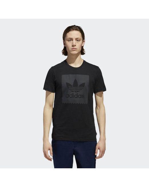 Lyst Adidas Blackbird Solid Tee in negro para hombres