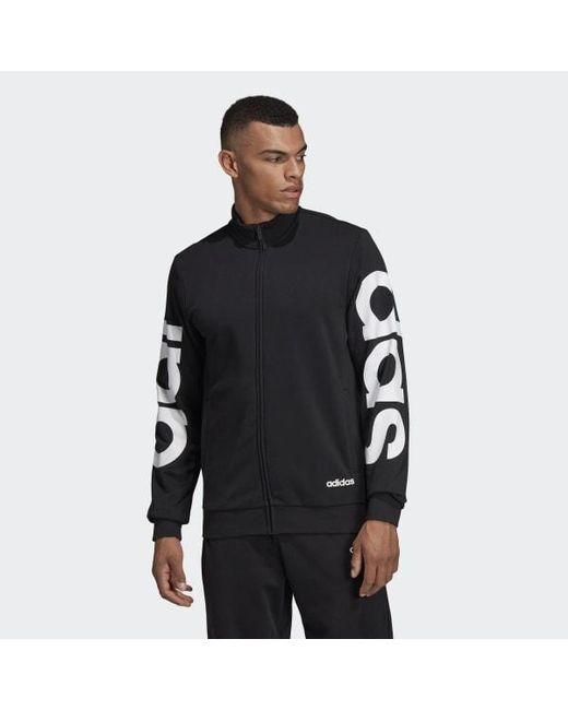 621b43a1b1 Men's Black Essentials Track Jacket
