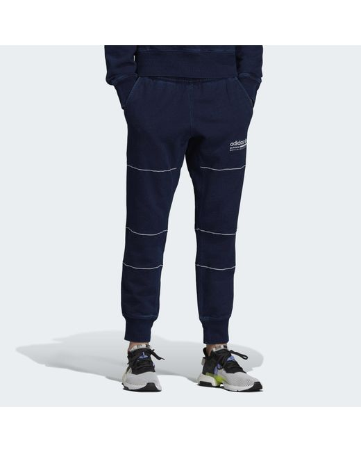 Herren Kaval Graphic Jogginghose in blau