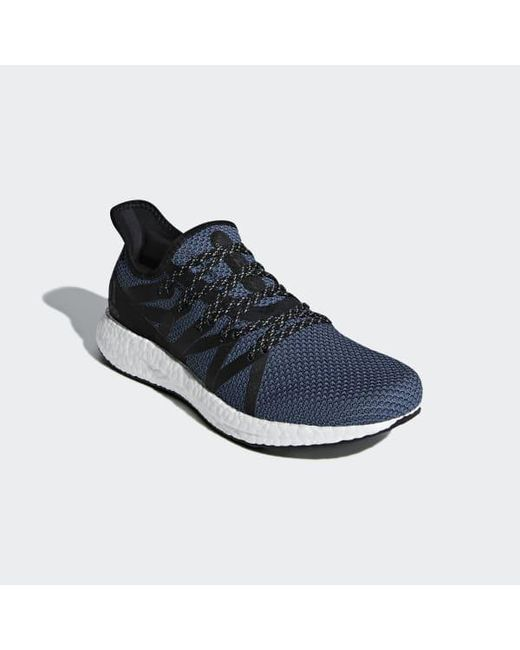 info for afe9d 02a3e ... Adidas - Blue Speedfactory Am4nyc Shoes - Lyst ...